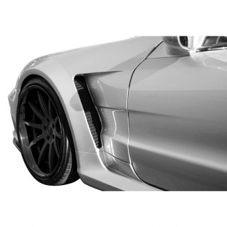 Aero Function® - AF Signature 2 Series Fiberglass Wide Body Conversion Front Fenders (Unpainted)
