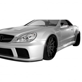 Aero Function® - AF Signature 1 Series Fiberglass Wide Body Conversion Side Skirts (Unpainted)