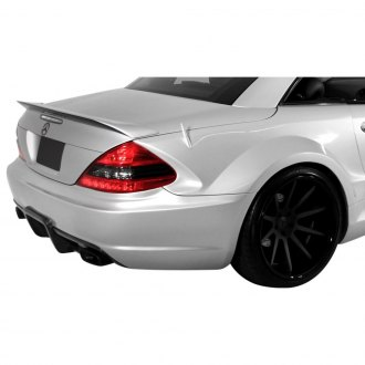 Aero Function® - AF Signature 1 Series Fiberglass Wide Body Conversion Rear Fenders (Unpainted)