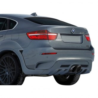 2011 BMW X6 Custom Rear Diffusers