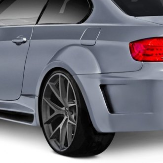 Aero Function® - AF-5 Style Wide Body Fiberglass Rear Fender Flares (Unpainted)