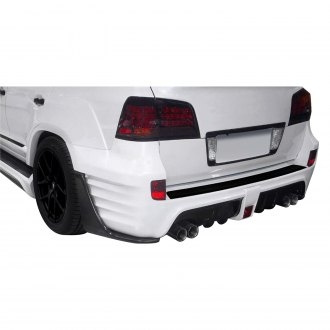 Aero Function® - AF-1 Style Fiberglass Wide Body Rear Bumper Cover (Unpainted)