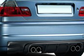 Aero Function® - AF-2 Style Carbon Fiber Rear Diffuser
