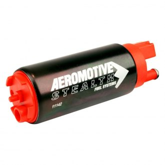 Aeromotive® - 340 Stealth Fuel Pump, Offset Inlet, Inline