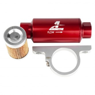 Aeromotive® - Fuel Filter and Bracket Combo Kit