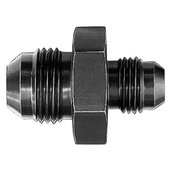 8AN Male Flare Reducer Union BLACK QUALITY! 10AN To