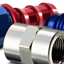 Aeroquip® - Steel Pipe Fitting Coupling