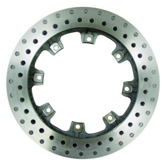 AFCO® - Pillar Vane Drilled Vented Rear Brake Rotor