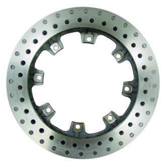 AFCO® - Pillar Vane Drilled Cast Iron Brake Rotor