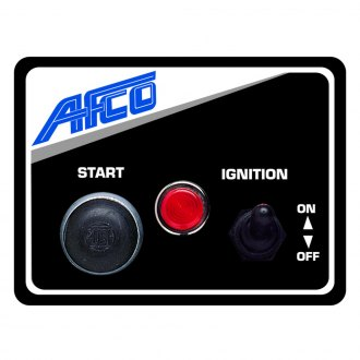 AFCO® - Switch Panel 1 Switch 1 Start Button
