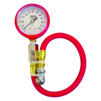 AFCO® - Red Tire Pressure Gauge