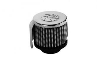 aFe® 18-01502 - Crankcase Vent Breather Filter with Shield (1.5 F x 3 B x 3 D x 2.5 H)