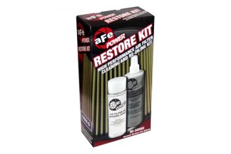 aFe® 90-50000 - Restore Kit (Cleaner and Gold Aerosol Oil)