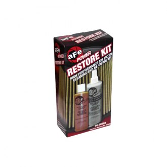 aFe® - Air Filter Restore Kit, Cleaner and Gold Squeeze Bottle