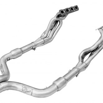 aFe® - Twisted Steel Long Tube Headers and Connection Pipes with Cats