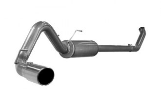 "aFe® 49-42004 - Mach Force XP Turbo Back Exhaust System (4"" Mandrel Bent)"