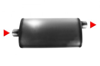 aFe® - Mach Force XP Stainless Steel Oval Muffler