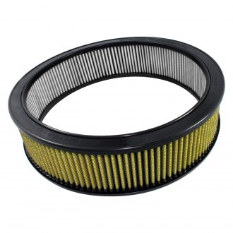 "aFe® - Magnum Flow™ Racing Pro Guard 7 Round Gold Air Filter (14.5"" ID x 17.13"" OD x 4"" H)"