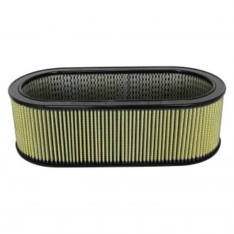 "aFe® - Magnum Flow™ Pro Guard 7 Round Gold Air Filter with Expended Metal (7.25"" ID x 18.13"" OD x 6"" H)"
