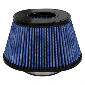 "aFe® - Magnum Flow Pro 5R Oval Tapered Inverted Air Filter (5.5"" F x 7"" BOL x 10"" BOW x 6.75"" TOL x 5.5"" TOW x 5.75"" H)"