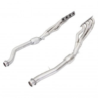 aFe® - Twisted Steel™ 409 SS Long Tube Exhaust Headers with Catted Y-Pipe