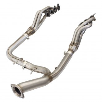 aFe® - Twisted Steel™ Race Stainless Steel Long Tube Exhaust Headers with Non-Catted Y-Pipe