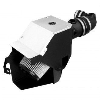 aFe® - Magnum Force™ Stage 2 Aluminum Black Cold Air Intake System and Aluminum Intake Cover