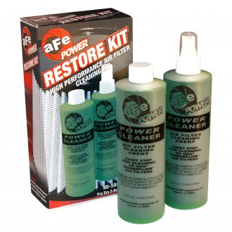 aFe® - Magnum Flow Pump Spray Bottle and Refill Restore Kit for Pro Dry S Filter (12 oz)