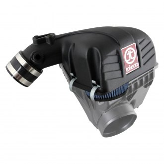 Takeda® - Retain Stage 2 Aluminum Black Short Ram Air Intake System with Pro 5R Blue Filter