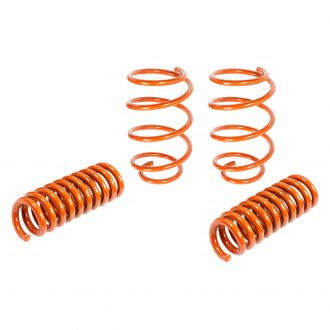 "aFe® - 1"" x 1.5"" PFADT Series Front and Rear Tangerine Lowering Coil Springs"