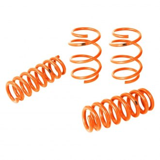 "aFe® - 1"" x 1"" Control Front and Rear Tangerine Lowering Coil Springs"