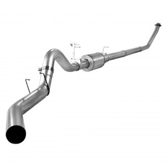 aFe® - Atlas™ Aluminized Steel Turbo-Back Exhaust System without Tip