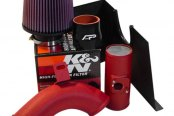 Agency Power® - Black / Red CNC Aluminum Cold Air Intake Kit