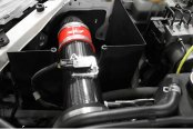 Agency Power® - Black Wet Carbon Fiber Short Ram Intake Kit