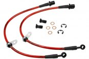 Agency Power® - Rear Steel Braided Brake Lines