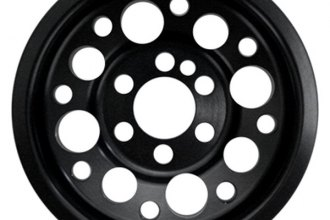 Agency Power® - Black Lightweight Crank Pulley
