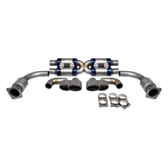 Agency Power® - Titanium Header-Back Exhaust System with Quad Rear Exit