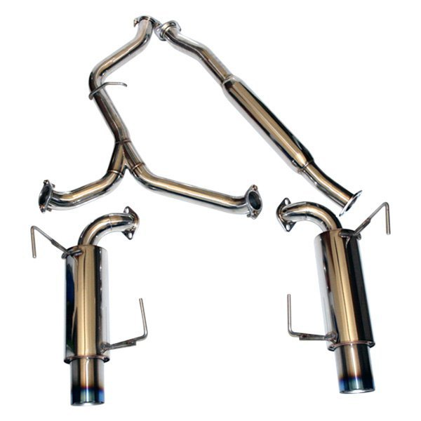 Agency Power® - Stainless Steel Dual Cat-Back Exhaust System