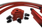 Agency Power® - Red Fuel Rail Kit