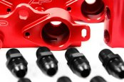 Agency Power® - Red High Flow Fuel Rail