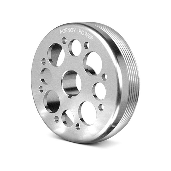 Agency Power® - Polished Lightweight Crank Pulley