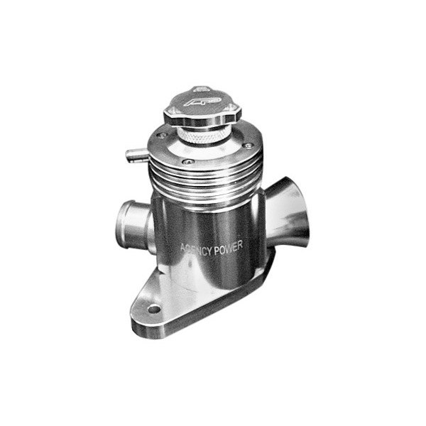Agency Power® - Silver Adjustable Blow-Off Valve