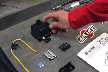 Air Lift® Install Overview WirelessAir™ Chevy Silverado 2500 (Full HD)