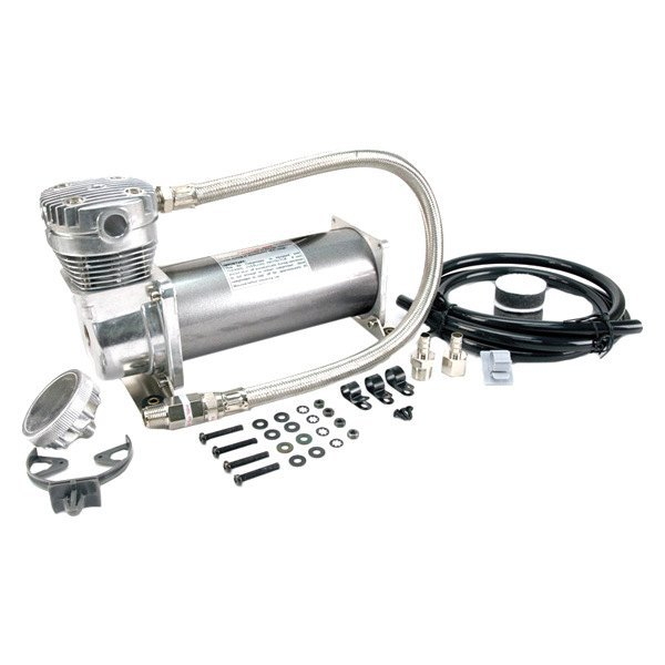 Air Lift® - Viair 380C Chrome Compressor (200psi, 1.76 cu.ft per minute)