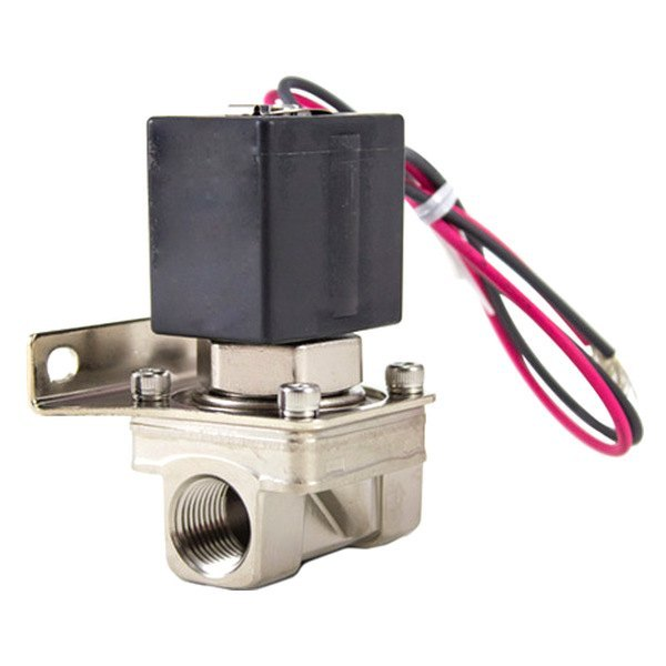 "Air Lift® 24415 - Chrome Air Spring Solenoid (3/8"" FNPT, W/O Bracket)"