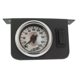 Air Lift® 26157 - Dual Needle Gauge with Two Switches
