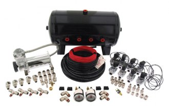 "Air Lift® - 4-Way Digital Air Management System (1/2"" Air Lines, 5 Gallon Tank, 175 psi, 380C Chrome Compressor)"