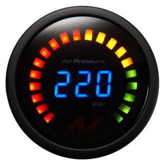 Air Zenith® - 220 psi Digital Air Pressure Gauge