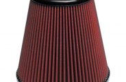 "AIRAID® 701-455 - Red SynthaMax Cone Air Filter (4"" F x 6"" B x 4.625"" D x 6"" H)"