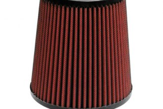 "AIRAID® 701-493 - Red SynthaMax Cone Air Filter (3"" F x 6"" B x 4.625"" D x 6"" H)"